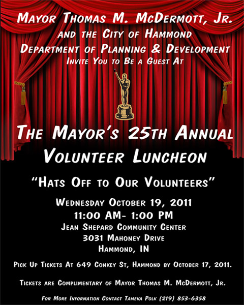 Volunteer Luncheon Ad