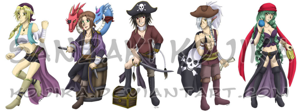 Star Ocean Pirates